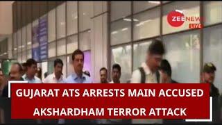 Gujarat ATS arrests main accused of 2002 Akshardham Temple attack