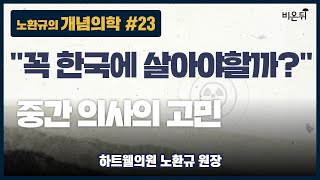 [노환규 원장의 개념의학] #23 '꼭 한국에서 살아야…