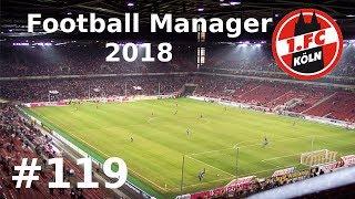 Football Manager 2018 mit dem 1. FC Köln - Wolfsburg - #119 (LP)