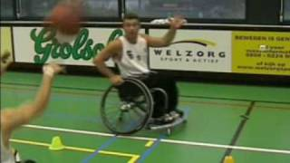 "Wheelchair basketball ""stations"""