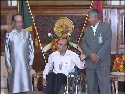 Meeting with president Zillur Rahman 2013