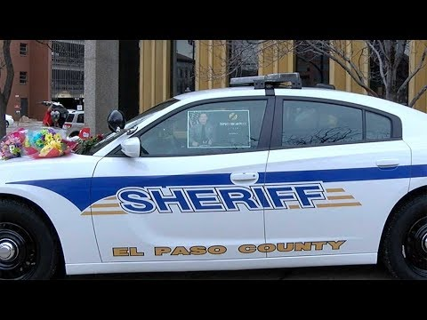 El Paso County Sheriff's office, family of deputy coping with shooting death