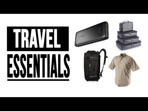 Travel Essentials   5 Things I Can't Travel Without