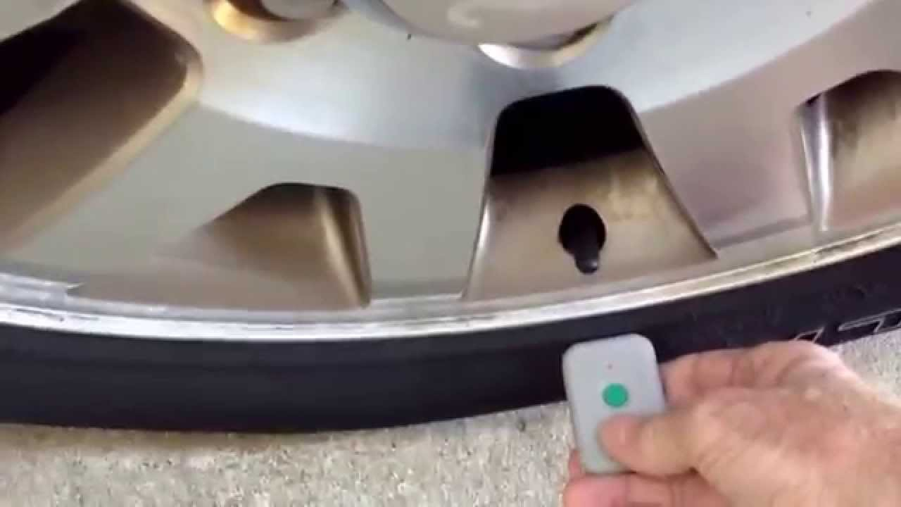 F150 Tire Sensor Relearn Procedure Using Tpms Tool Youtube