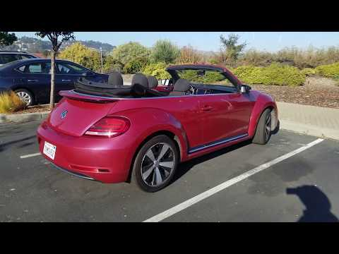 Pink Volkswagen Beetle Convertible For Rent on Turo