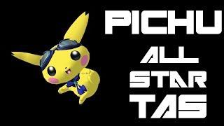 Pichu All Star TAS (Very Hard, No Damage) - SSBM