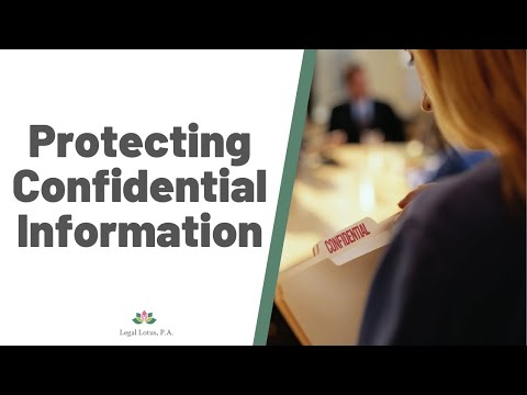 What you need to file to keep protected info confidential- Legal Lotus, Miami Trial & Family Lawyers