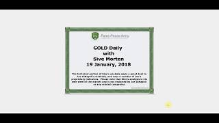 Forex Peace Army | Sive Morten Gold Daily 01.19.18
