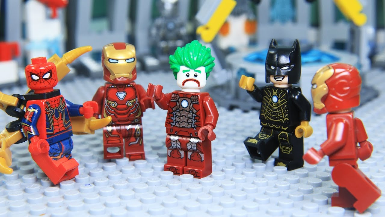 Download Lego IRON MAN's ARMOR was Stolen by JOKER
