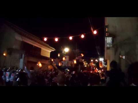 角館のお祭り 2019年9月9日 やまぶっつけ(駅通り×西部)
