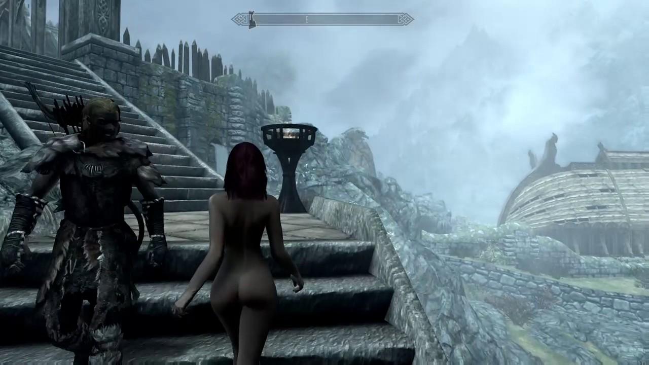 skyrim naked mod