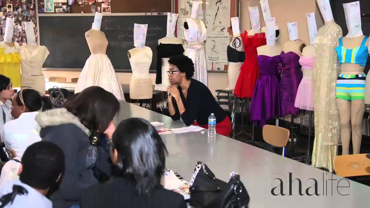 Ahalife Presents The High School Of Fashion Industries Youtube
