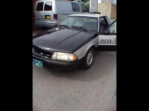 1993 North Carolina State Highway Patrol SSP Mustang Video 5 of 5