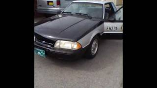 1993 North Carolina State Highway Patrol SSP Mustang Video 5 of 5