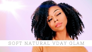 Soft Valentines Day Glam Makeup Tutorial | Beginner Friendly