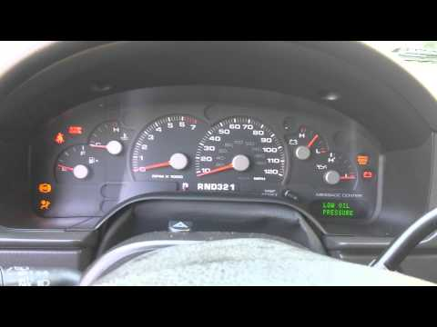 2004 Ford Explorer Instrument Cluster Issue