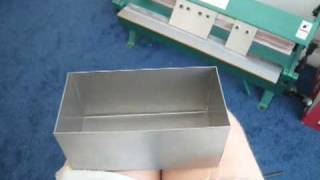 Sheet Metal Box & Pan Brake Tutorial - Grizzly Brake In My Home Shop