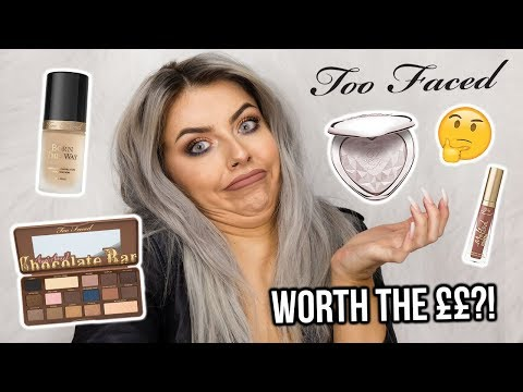 TESTING TOO FACED MAKEUP! FULL FACE OF FIRST IMPRESSIONS - WORTH THE HYPE!?