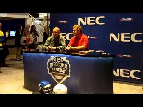 InfoComm 2013: NEC InfoComm Gameday With Joe Theismann