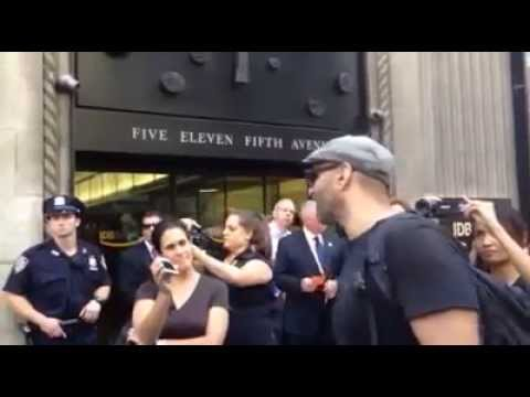 New York protest: call to boycott against companies supporting Israeli settlements