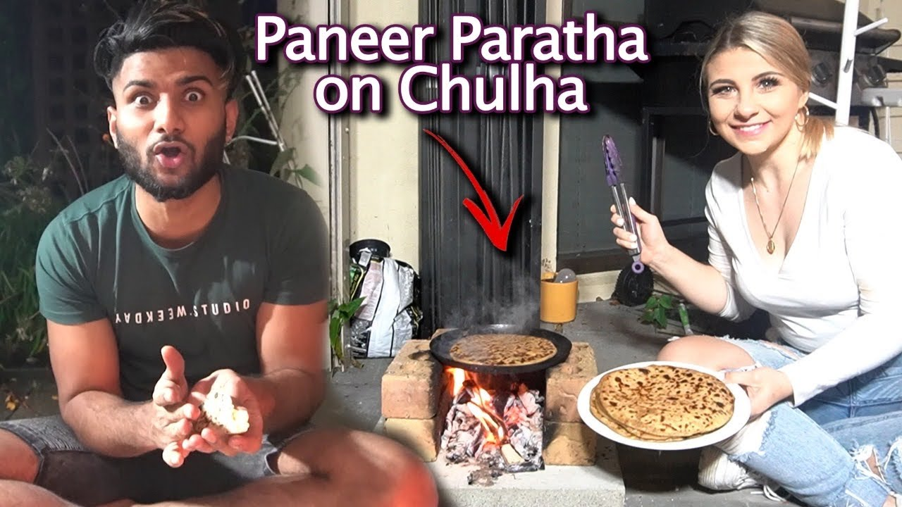 Cooking Paneer Parathas on Chulha in New Zealand *INCREDIBLY SUCCESSFUL!*