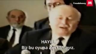 Necmettin Erbakan anlatıyor: Neden #Hayır