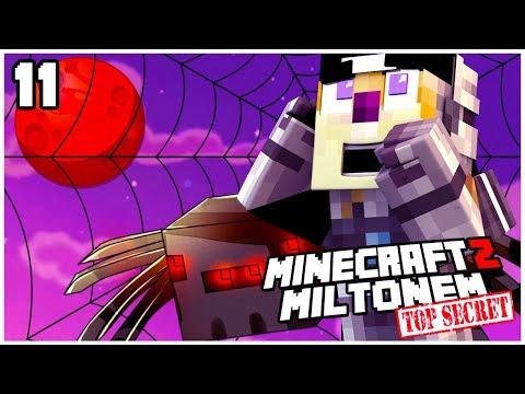 🕷️ MILTON LECI NA MARSA?! Galacticraft 1.10.2 - MINECRAFT Z MILTONEM TOP SECRET #11