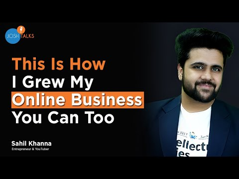 How To Build A Career In Digital Marketing?   Sahil Khanna   @Intellectual Indies   Josh Talks