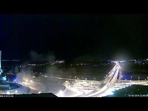 Пожар в центре Калуги
