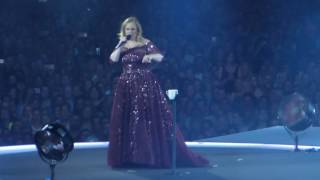 Adele Water Under The Bridge Melbourne, March 19