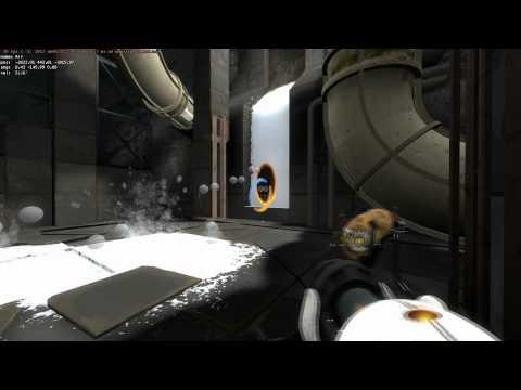 Portal 2 - Alternative puzzle solutions
