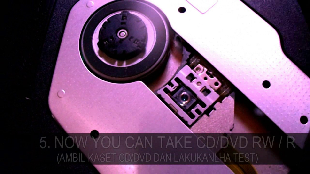 Perbaiki Optik Dvd Laptop Yang Tidak Bisa Membaca Cd Dvd Rusak