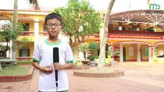 Ghi hình ngoài trời - MC PRO nhí Cảnh Đông