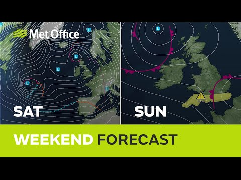 Weekend Weather – Some Rain But Gradually Turning Drier 19/12/19