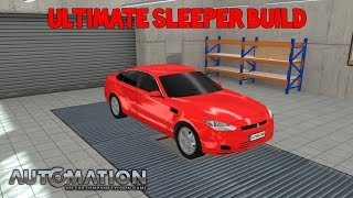 Ultimate Sleeper Build Automation The Car Company Tycoon Game