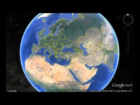 Bosnia and Herzegovina Google Earth View