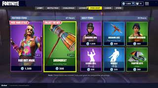 Fortnite item shop 9/1/18 NEW *far out man* skin