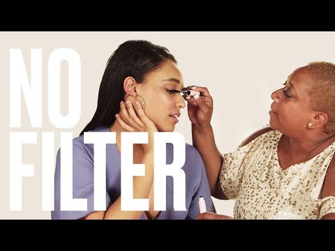 Watch These Moms Try Glossier's New Makeup Line | No Filter | Mother's Day Edition | ELLE thumbnail
