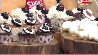 فيديو| طريقة تحضير «كوكيز» الأبيض والأسود فى «المطبخ»