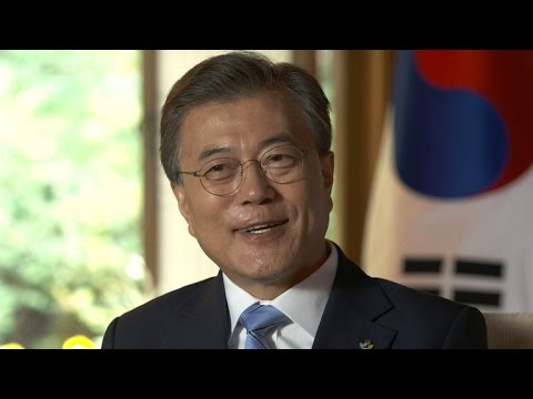 South Korean president on dealing with North Korea and Kim Jong Un