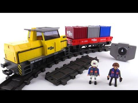 Playmobil rc freight train review set 5258 youtube - Train playmobil ...