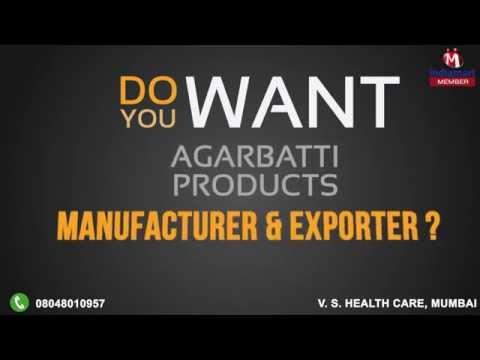 Agarbatti Products by V. S. Health Care, Mumbai