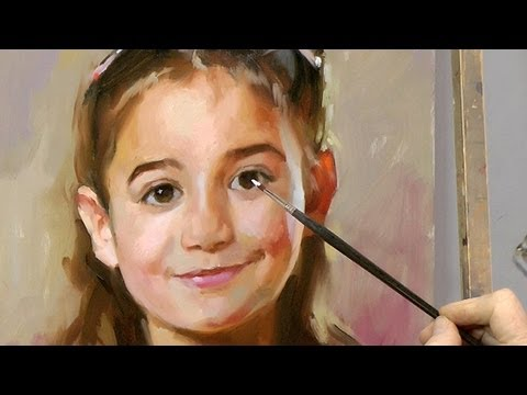 Learn how to paint a portrait by Ben Lustenhouwer. - YouTube