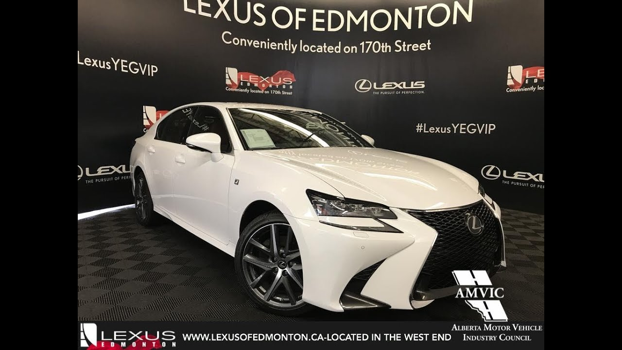 White 2018 Lexus Gs 350 F Sport Series