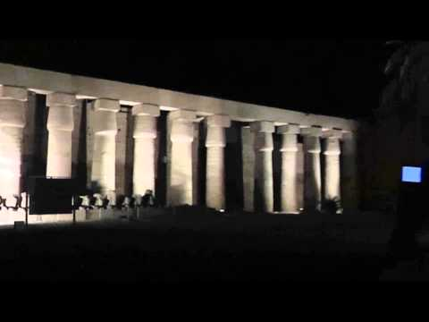Karnak Temple & Sound and Light show ... Upper Egypt