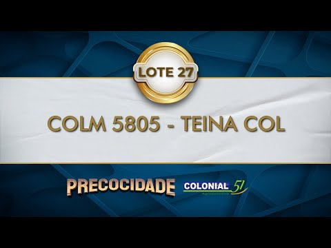 LOTE 27   COLM 5805