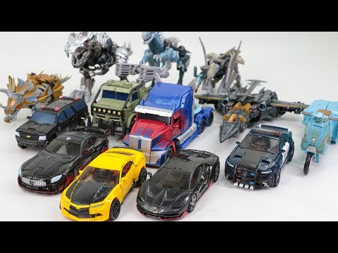 Transformers 5 TLK Optimus Prime Bumblebee Megatron Grimlock 13 Dinosaur Dragon Truck Car Robot Toys