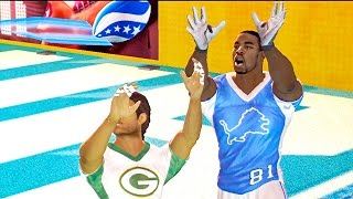 CALVIN JOHNSON RETURNS! - NFL TOUR | Lions vs Packers
