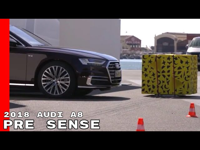 2018 Audi A8 Pre Sense Side Protection Cross Traffic Assist Youtube