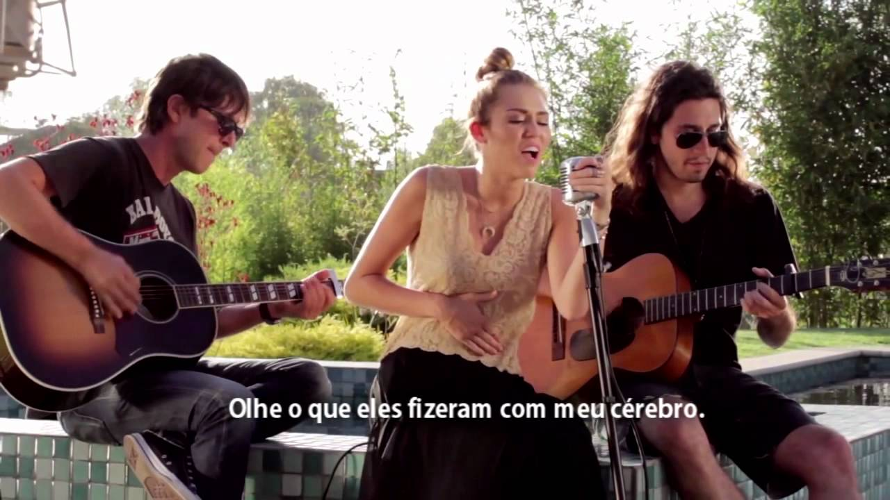 Miley Cyrus The Backyard Sessions 'Look What They've Done ...